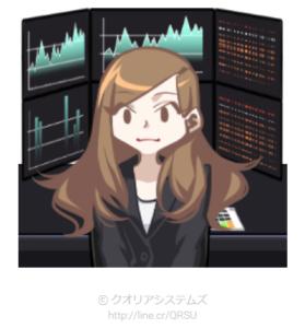 株女のスタンプ – LINEスタンプ公開